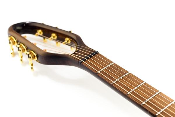 Guitar head maple