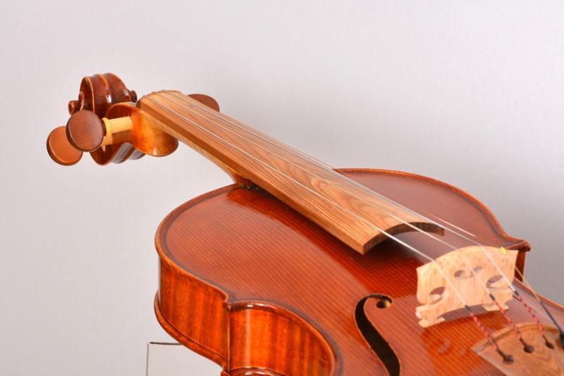 Sonowood finger board for violins made of spruce