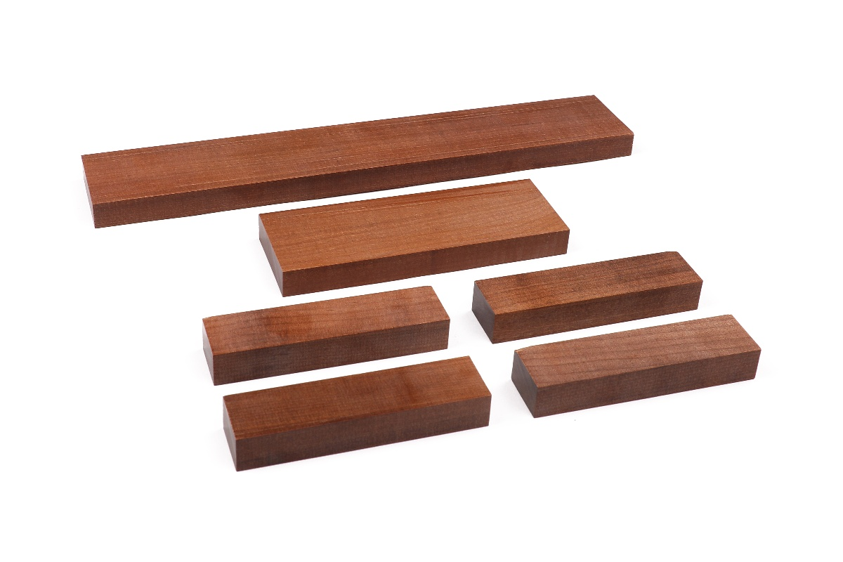 Sonowood set made of maple for bowed string instruments